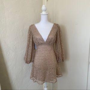 Free People Kaya Sequin Lace Dress